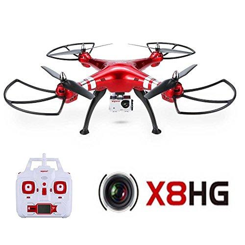 GoolRC Syma X8HG Drone con Camara HD 8.0MP RC Quadcoptr con Funciones...