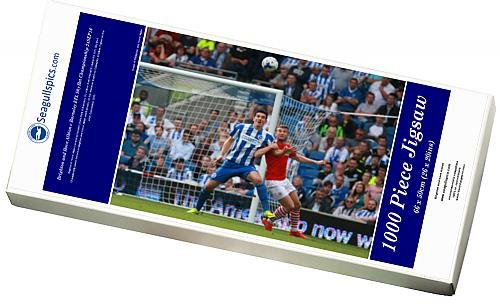 Photo Jigsaw Puzzle of Brighton and Hove Albion v Barnsley EFL Sky Bet Championship 24SEP16