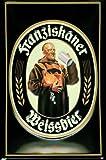 Blechschild Nostalgieschild Franziskaner Weissbier München Bayern