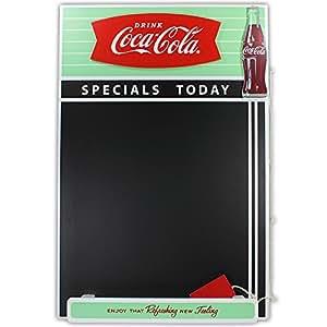 Retro Coca Cola Fishtail Conception Ardoise