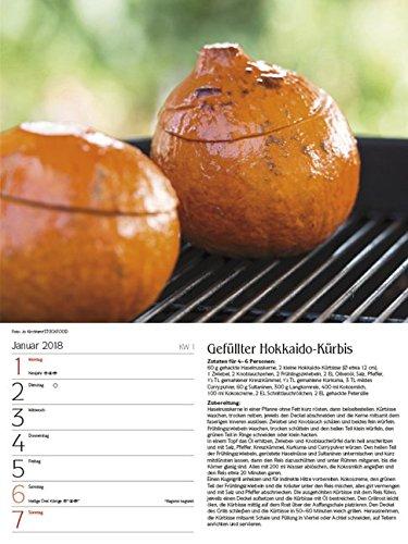 51adIRbyC7L - Genussvoll Grillen 2018: Foto-Wochenkalender