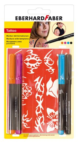 Eberhard Faber Tattoo Marker Bright, 4-er Set