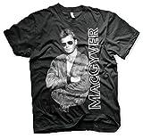 MacGyver Pose T-shirt noir XXL