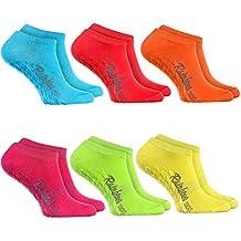 Rainbow Socks Sneaker ANTIRUTSCH-Socken by Baumwollereiche STOPPERSOCKEN Komfort für Jeden Tag ideal für: Glatte Fußböden Yoga Trampolinspringen für Frauen und Männer Oeko-Tex-Zertifikat, Made in EU