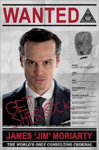 Sherlock - Moriarty Wanted