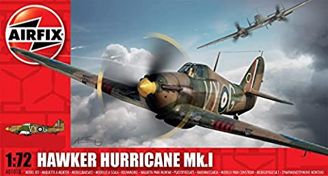 Airfix 1: 72 Scale Hawker Hurricane MK1 Model Kit