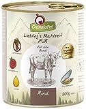 GranataPet Lieblingsmahlzeit Rind PUR 6 x 800g Rind PUR