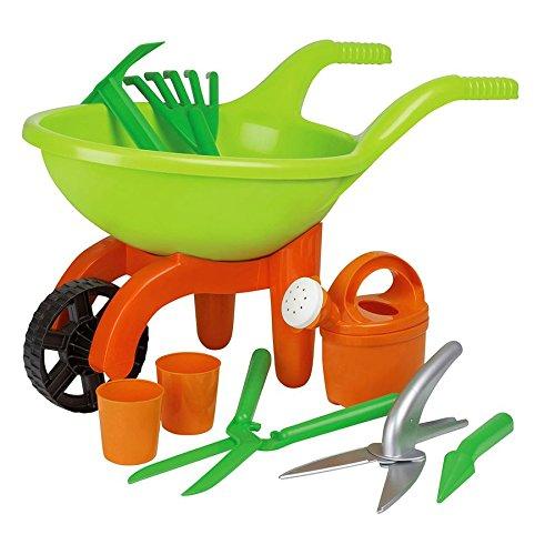 Schubkarre Set mit Gartenwerkzeug 9 teilig