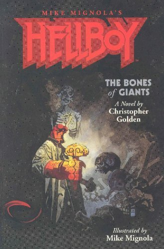 Hellboy: The Bones of Giants Illustrated Novel by Mike Mignola (January 14,2002)