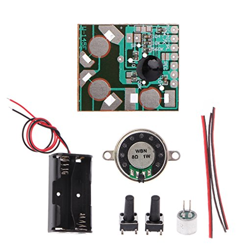 eschenkkarte DIY elektronisches Kit Sprachaufzeichnung IC-Modul Mini Digital Chip Recorder Musikkarte ()