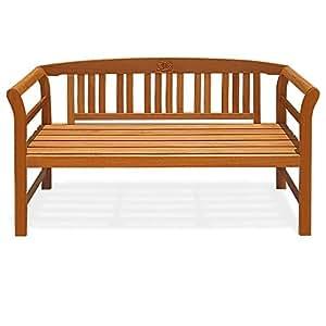 gartenbank rose sitzbank holzbank bank holz eukalyptus garten gartenm bel 140cm. Black Bedroom Furniture Sets. Home Design Ideas