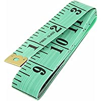 Miki&Co 1.5M 60 Inches Soft Plastic Sewing Tailor Tape Measure Ruler Green