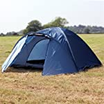 North Gear Camping Mars Waterproof 4 Man Dome Tent 4