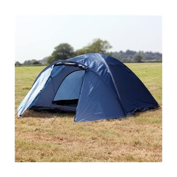 North Gear Camping Mars Waterproof 4 Man Dome Tent 2