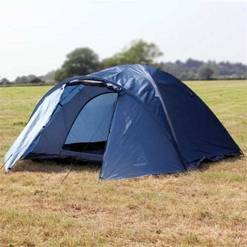 North Gear C&ing Mars Waterproof 4 Man Dome Tent & North Gear Camping Mars Waterproof 4 Man Dome Tent - UKsportsOutdoors