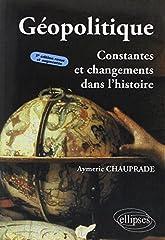 estimation pour le livre Géopolitique : Constantes et Changements dans...