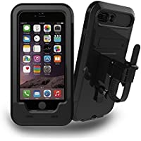 iPhone 6S / 7 / 8 / 7+ / 8+ Soporte Para Bicicleta, JEMACHE Bicicleta/Moto de Soporte Impermeable Funda Para iPhone 6/6S/7/8, iPhone 6/6S/7/8 Plus (iPhone 6/6S/7/8)