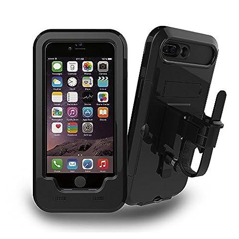 iPhone 7 Support vélo, JEMACHE Support de guidon pour moto/vélo