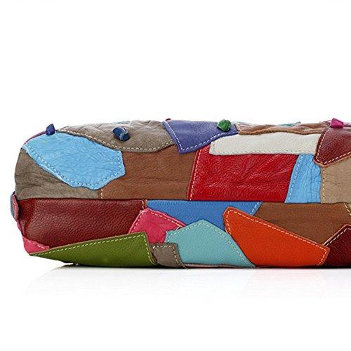 Eysee, Poschette giorno donna Multicolore Multicolore 42cm*25cm*13cm Multicolore