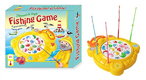 Popsugar Fishing Game Set, Yellow
