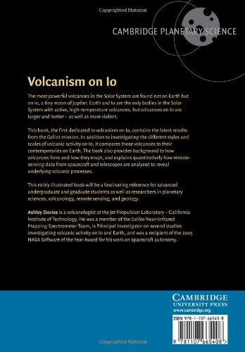 Volcanism on Io: A Comparison with Earth (Cambridge Planetary Science)