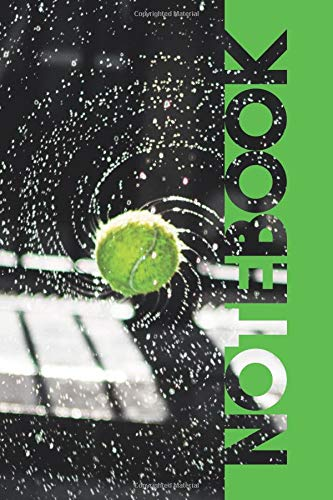 Notebook: Tennis Ball Machine Pretty Composition Book for Club Players por Molly Elodie Rose