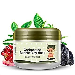 MLMSY Deep Cleansing Carbonated Bubble Clay Maske Nachfüllen und Feuchtigkeitsspendende Maske Maske für Gesichtsbehandlung Entgiftung