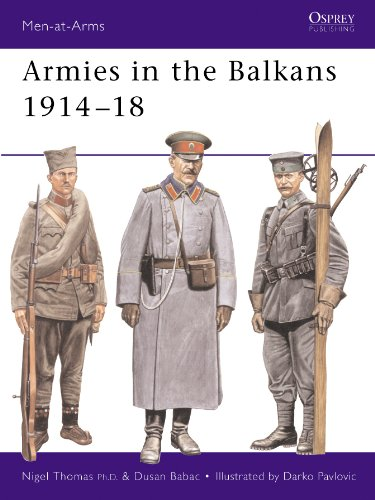 Armies in the Balkans 1914–18 (Men-at-Arms Book 356) (English Edition)