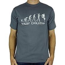 6b0172f91ad85 My Generation Gifts Rugby Evolution - Rugby divertido del regalo de  cumpleaños presente para hombre