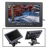 """Boblov HD 7"""" TFT LCD Farbmonitor 1024*600 VGA BNC Video"""