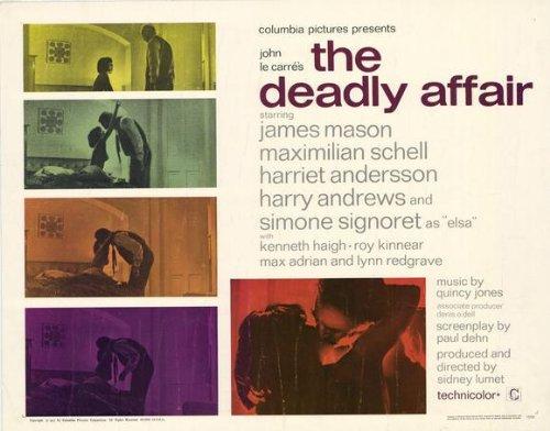 Deadly Affair Plakat Movie Poster (11 x 14 Inches - 28cm x 36cm) (1967)