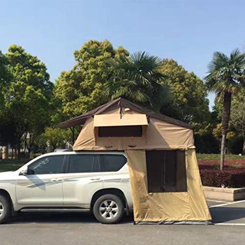 Zelt ADKINC 2019 Neue Upgrade Dachzelt, 420D Oxford Tuch PU Beschichtung Wasserdicht 3000mm mit hoher dichte Schaum matratze für Camping Reise Familie Fahren, (103 Pfund)