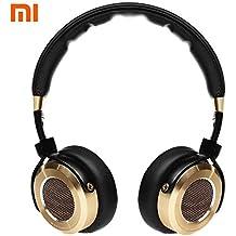 Xiaomi Mi HiFi Auriculares 50mm berilio diafragma auriculares estéreo con micrófono–negro de color Dorado