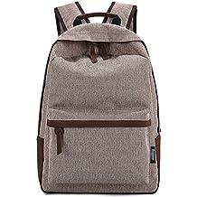 DATO Bolso Mochilas Escolares Mochila de Lona para Mujer Moda Juvenil Grand Capacidad Viaje Mochilas Tipo Casual Backpacks para Adolescentes