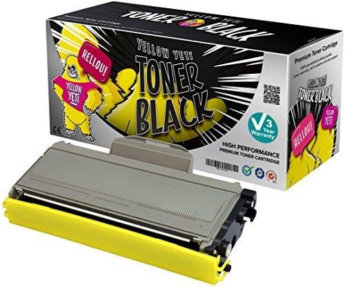 Yellow yeti tn2120 tn2110 (2600 pagine) toner compatibile per brother hl-2140 hl-2150 hl-2170 mfc-7320 mfc-7340 mfc-7440 mfc-7840 dcp-7030 dcp-7040 dcp-7045 [3 anni di garanzia]