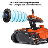Aplicación de la cámara Control Remoto Tanque RC Juguete Controlado por Teléfono Robot ATTOP YD-211 RC Tanque con Cámara HD Wifi FPV 0.3MP