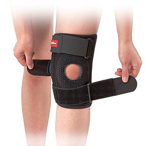 """PrettyCare Knie Brace Support (Professional Protection) Verstellbare Patella Klammern Protector & Knie Cap Band Stabilisator für Arthritis, Meniskus reißen, Basketball, Übung (14 """"-16"""")"""