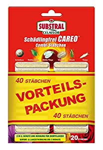 Celaflor Schädlingsfrei Careo Combi-Stäbchen, mit Pflanzenschutz und Düngerfunktion, 40 St