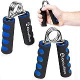 #DoYourFitness Handtrainer/Handmuskeltrainer 2er-Set - blau rot o. grün - ideal zur Stärkung der...