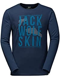 Jack Wolfskin FLOATING ICE LONGSLEEVE MEN - Langarmshirt Herren [night blue]