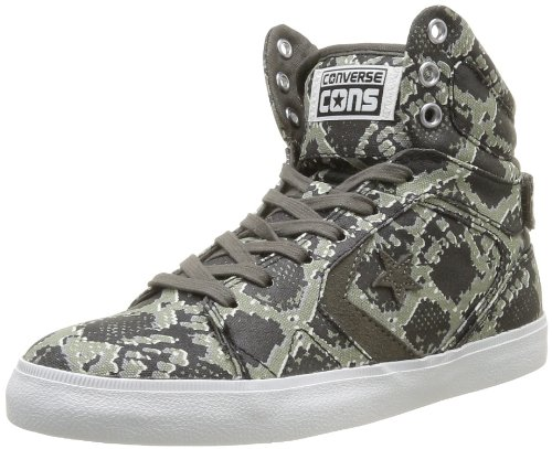 Converse Chuck Taylor All Star 12 Snake Mid, Baskets mode mixte adulte Gris (Anthracite/Multi)