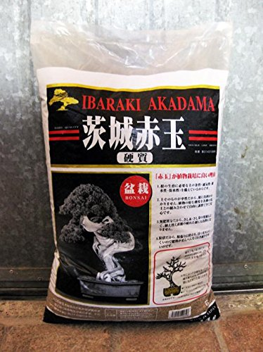 Bonsaï-terre Akadama 1-5 mm Ibaraki dur 12.5 Litre, env. 10 KG