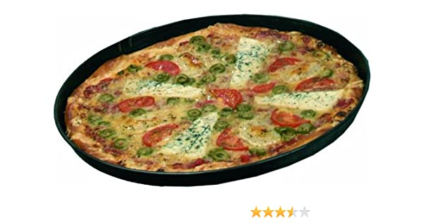 10 St/ück Pizzablech Blaublech 32 cm /Ø oben 30 cm /Ø unten