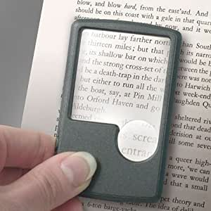 Twin Lens Pocket LED Lighted Magnifier