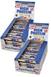 Weider - 40% High Protein Low Carb Riegel - Latte Macchiato (2 x 20 Riegel à 100 gr.)