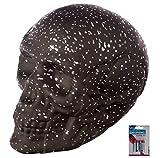 bick.shop LED Totenkopf Sternenhimmel Skull Totenschädel inkl. 4 Batterien Coole Deko Gothic Schädel