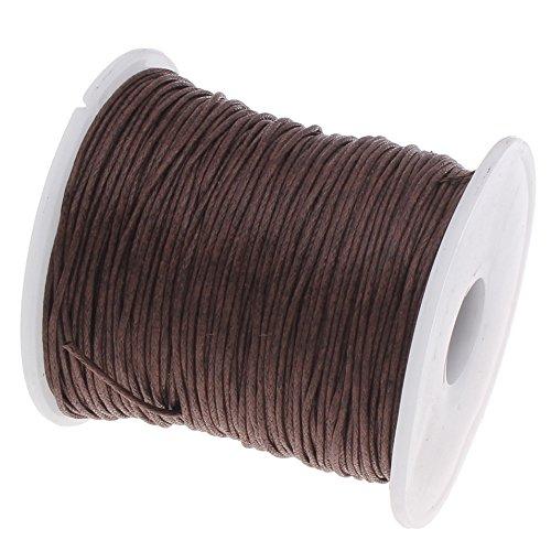 My-Bead algodón cuerda encerada trenzado