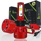 Baodanjiayou - Lampadine LED H4 H7, 120 W, 20000 lm, fendinebbia per auto