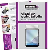 dipos I 2X Schutzfolie klar passend für Samsung Galaxy Tab S3 Folie Displayschutzfolie