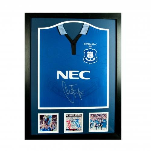 Everton-FC-Ferguson-Signed-Shirt-Framed-Official-Merchandise